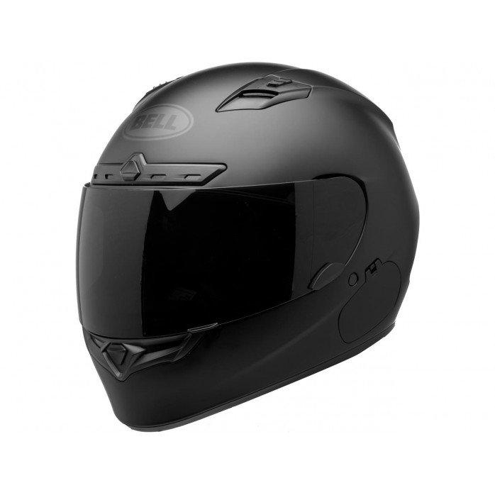 BELL Qualifier DLX Helmet Matte Black Blackout Size XS