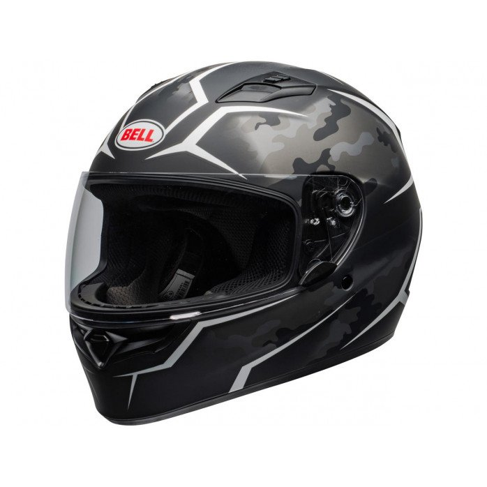 BELL Qualifier Helmet Stealth Camo Black/White Size XL