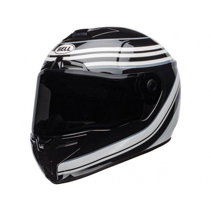 BELL SRT Helmet Vestige Gloss White/Black Size XL
