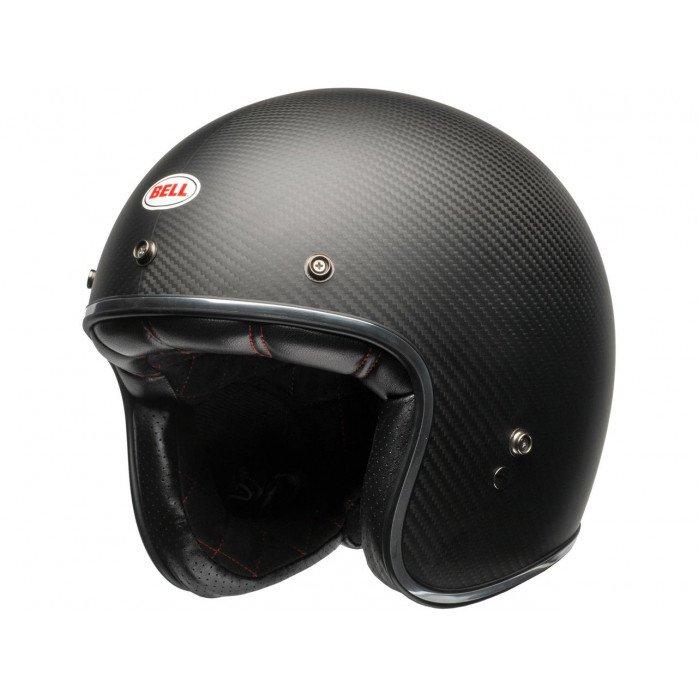 BELL Custom 500 Carbon Helmet Carbon Matte Black Size XXL