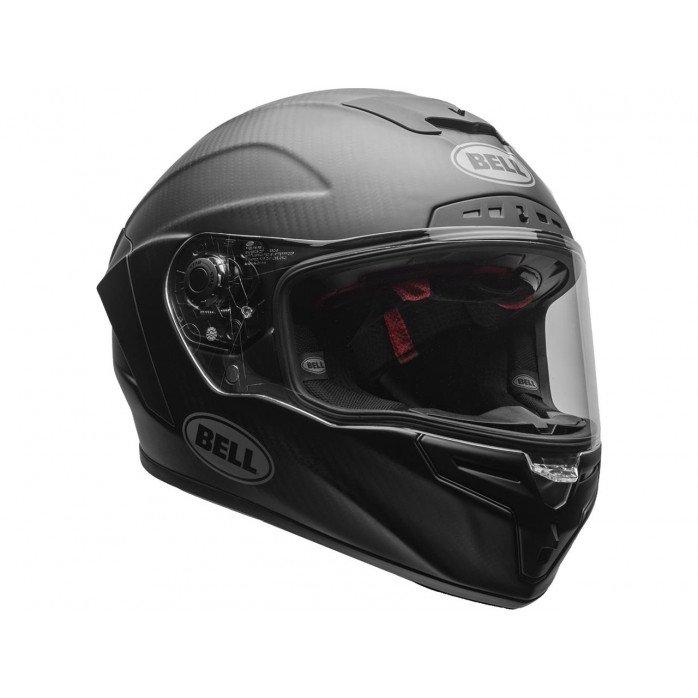 BELL Race Star Helmet Solid Matte Black Size XS