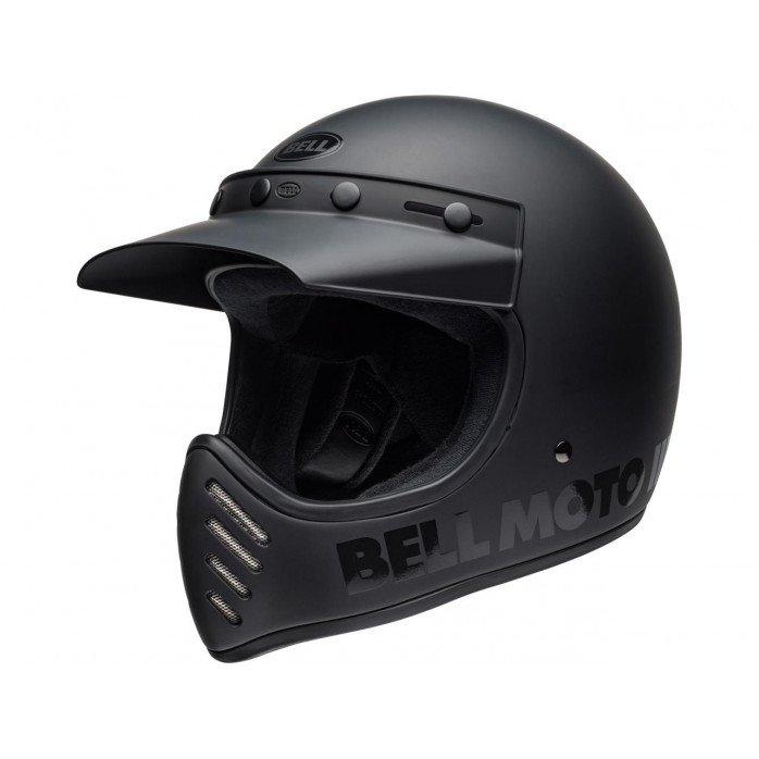 BELL Moto-3 Helmet Classic Matte/Gloss Blackout Size S
