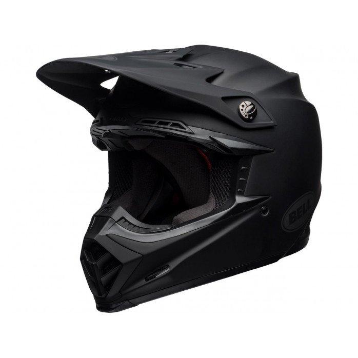 BELL Moto-9 Mips Intake Helmet Matte Black Size XS