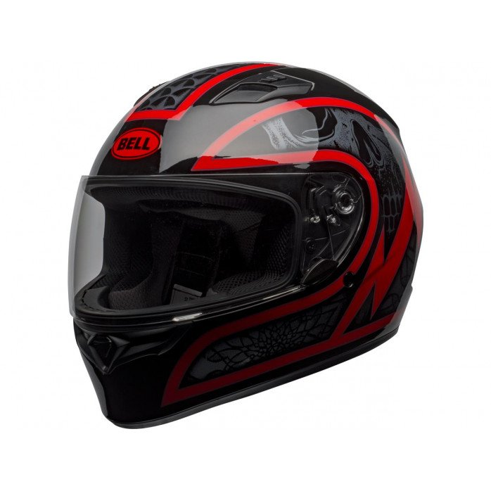 BELL Qualifier Helmet Scorch Gloss Black/Red