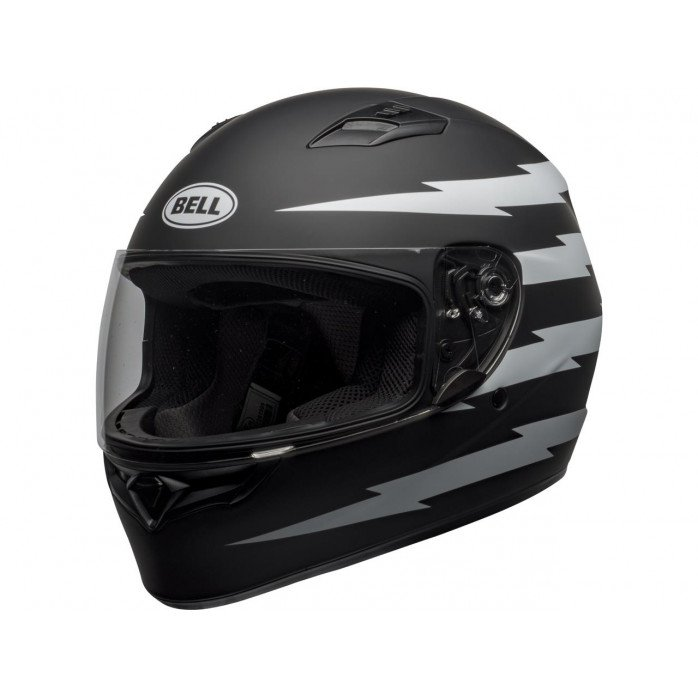 BELL Qualifier Helmet Z-Ray Matte Black/White