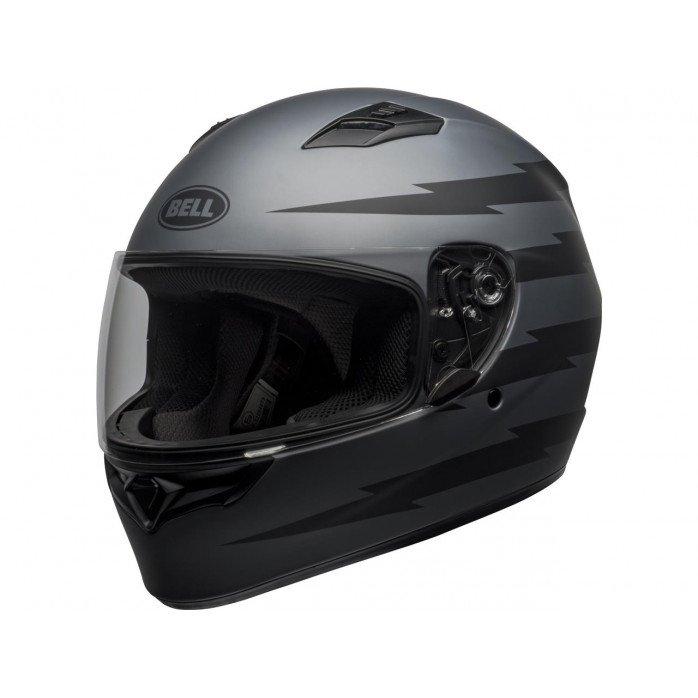 BELL Qualifier Helmet Z-Ray Matte Grey/Black